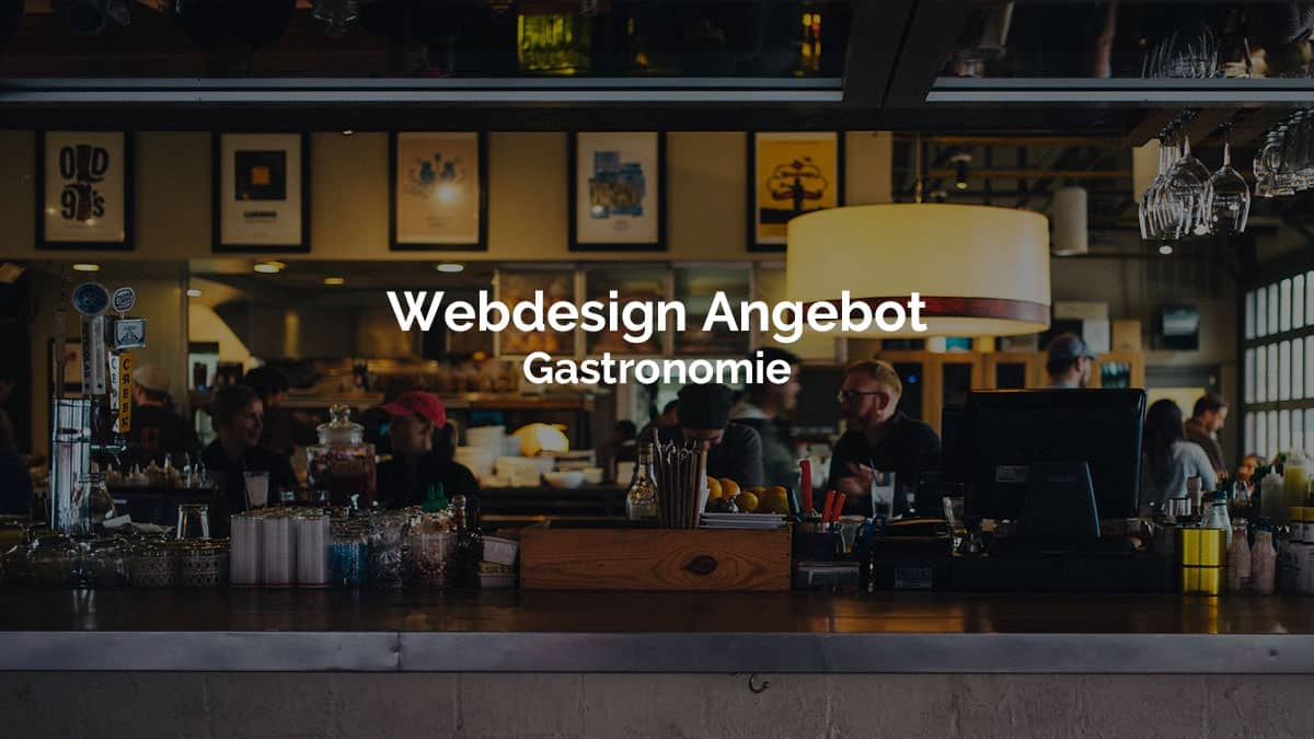 Webdesign Angebot Gastronomie April 2020 Designstudio 10